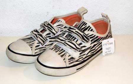 8d64390df36 Zebra-randiga tygskor - Åsumtorps Secondhand