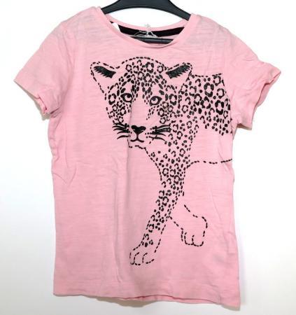 Rosa kortärmad tröja Åsumtorps Secondhand